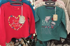 Sainsburys sexist tops