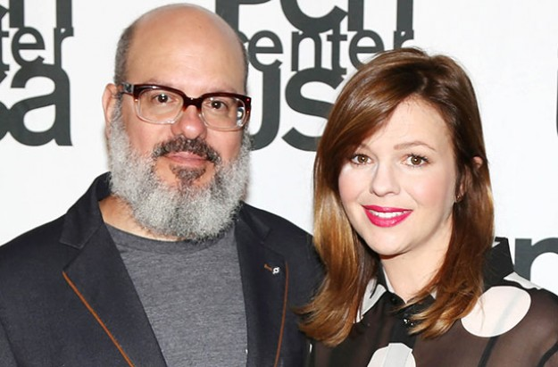 Amber Tamblyn reveals she's expecting a daughter with husband David Cross
