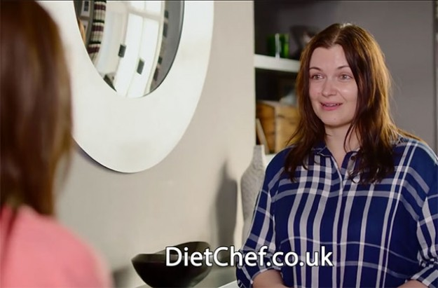 Diet chef advert
