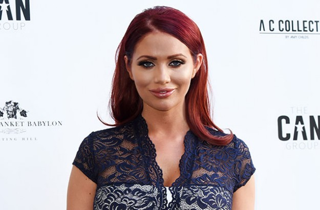 Amy Childs breastfeeding