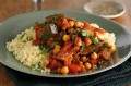 Chickpea tagine with apricots