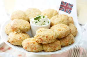 Feta cheese scones