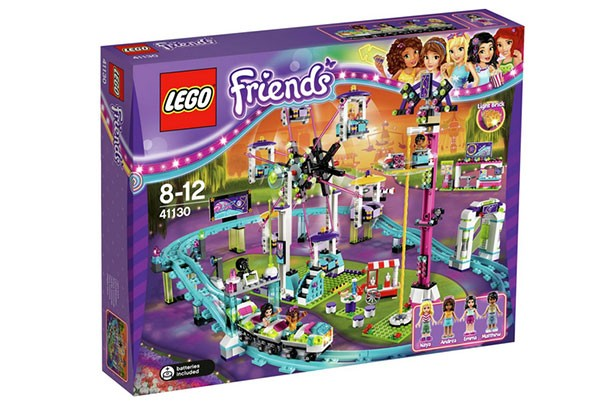 top christmas toys 2016 LEGO Friends Amusement Park Roller Coaster Construction Set