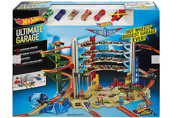 top christmas toys 2016 Hot Wheels Ultimate Garage