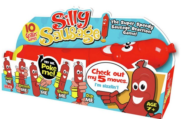 top christmas toys 2016 Silly Sausage