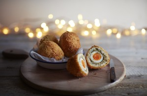 Christmas Scotch Eggs
