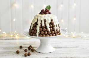 Malteser Christmas pudding