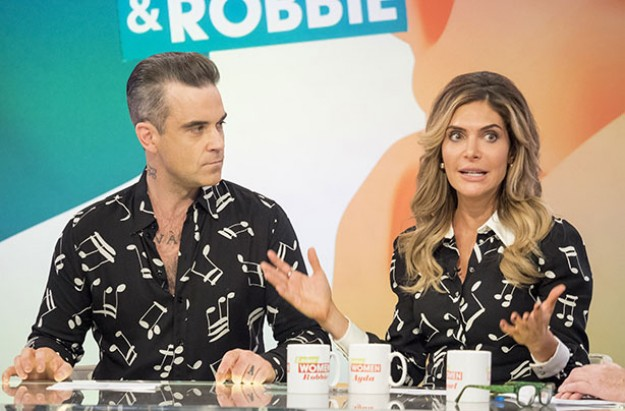 Robbie Williams Loose Women