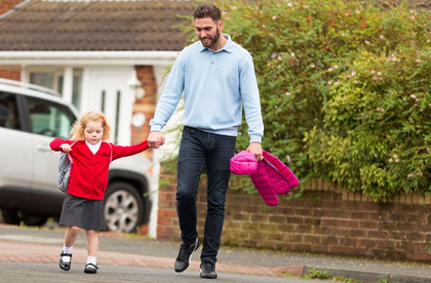 Working dad childcare debate
