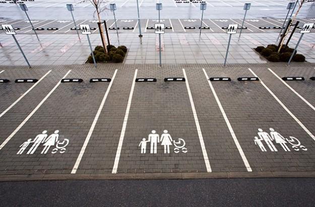 Car park mum