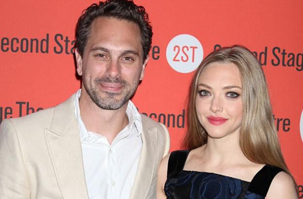 Amanda Seyfried and fiance Thomas