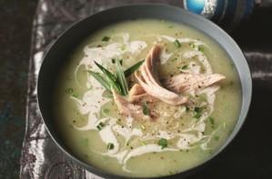 Slimming World chicken tarragon and lemon soup