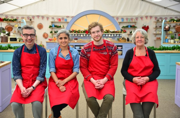 Bake Off Christmas contestants