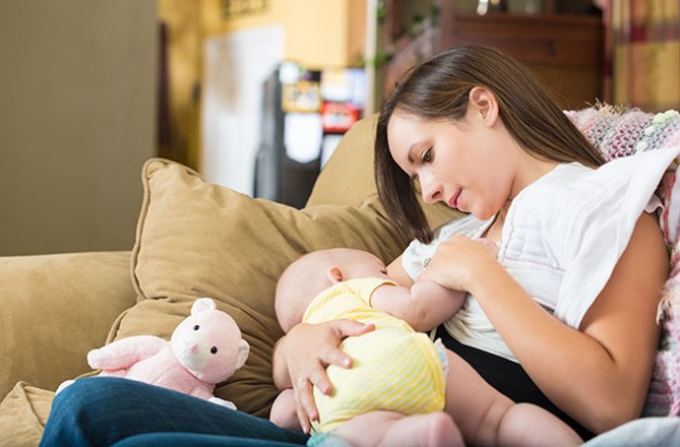 Breast feeding positions