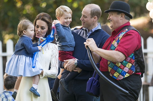 Excited Prince George joins Royal Family for Christmas lunch at Buckingham Palace