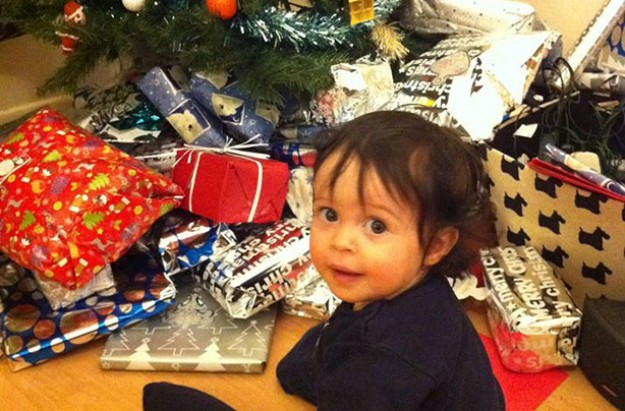 Why I didn't buy my baby a Christmas present