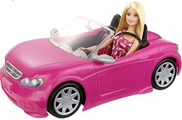 top christmas toys 2016 Barbie Convertible Car & Doll Playset