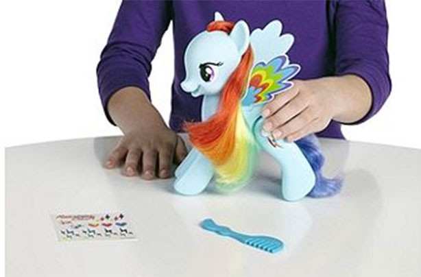 top christmas toys 2016 My Little Pony Flip and Whirl Rainbow Dash