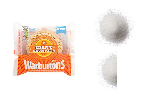 Salt shockers crumpets