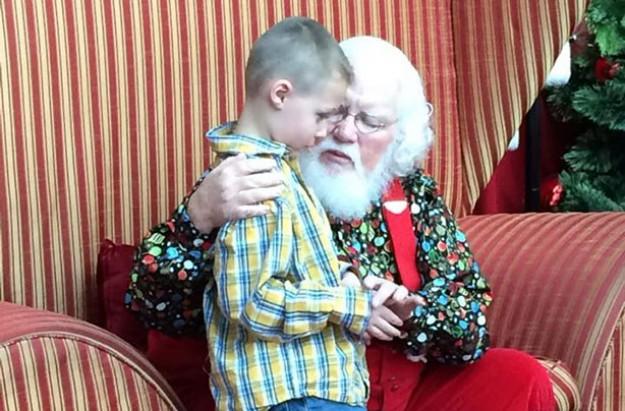 Good deed Santa