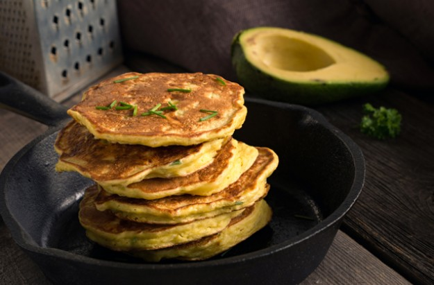 Avocado pancake recipe