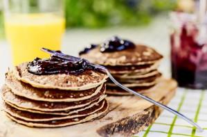 Spelt pancakes recipe