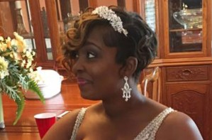 Anecia Wright breastfeeding bride