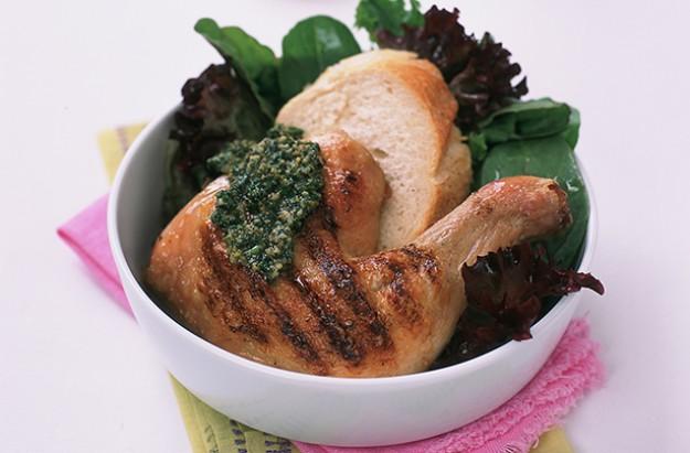 parsley pesto chicken