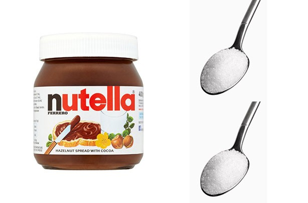 Nutella sugar shockers