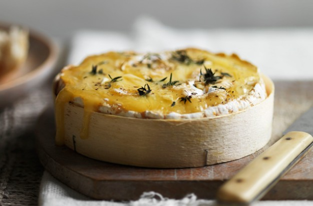 Hairy Bikers' baked Brie