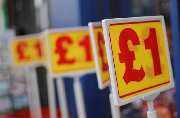 pound land, pound shop, pound sign
