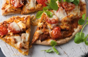 Mexican chicken pizza recipe