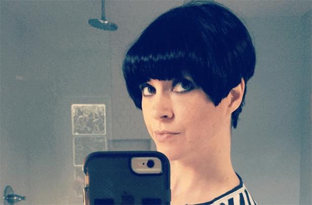 Dawn O'Porter, celebrity hairstyles