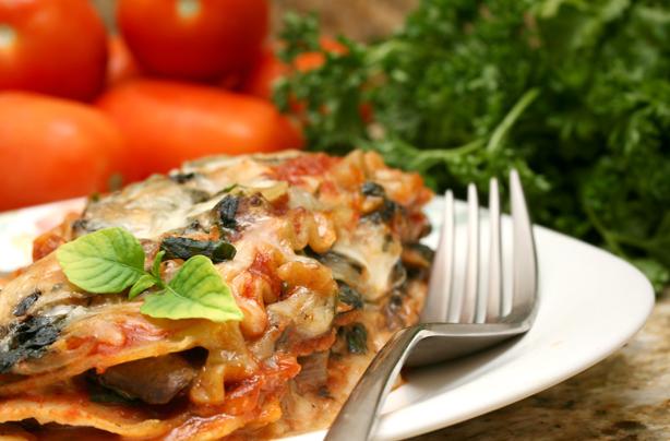 quick mushroom and spinach lasagne recipe  goodtoknow