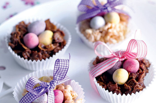 Chocolate Cornflake Nests Recipe Goodtoknow