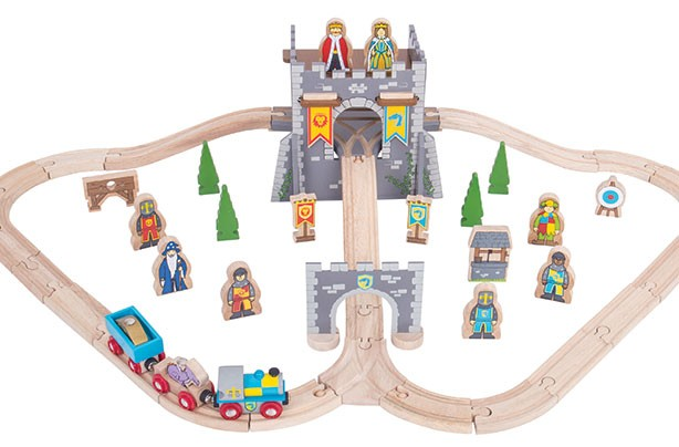 Top Toys 2017: Medieval train set