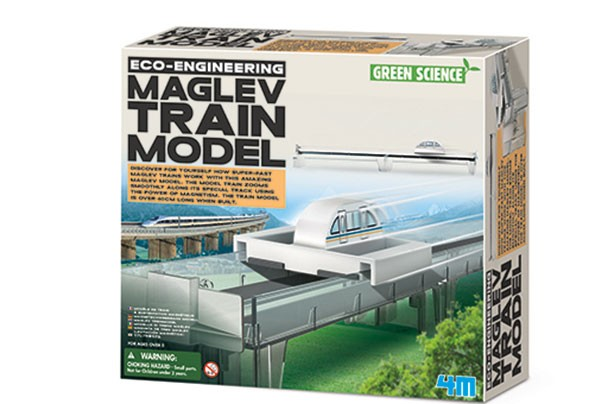 Top Toys 2017: Eco-Engineering Maglev Train Model