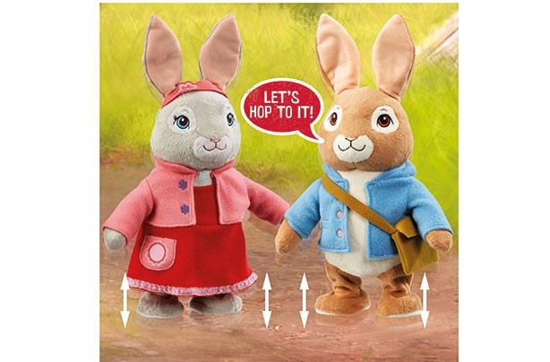 Top Toys 2017: Talking and Hopping Peter Rabbit and Lily Bobtail