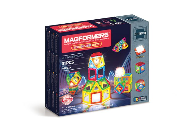 Top Toys 2017: Magformers Neon LED set