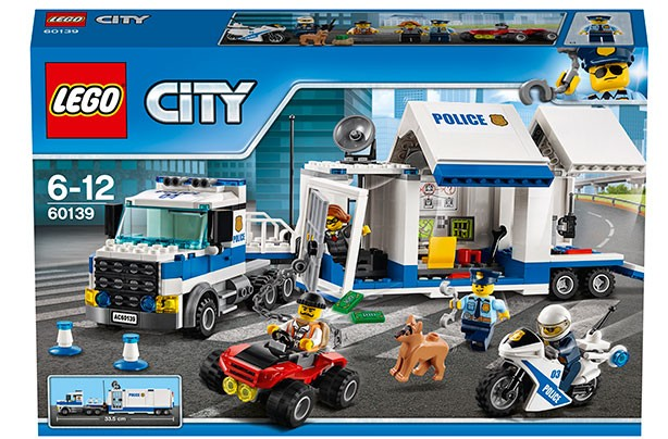 Top Toys 2017: Lego City Police - Mobile Command centre