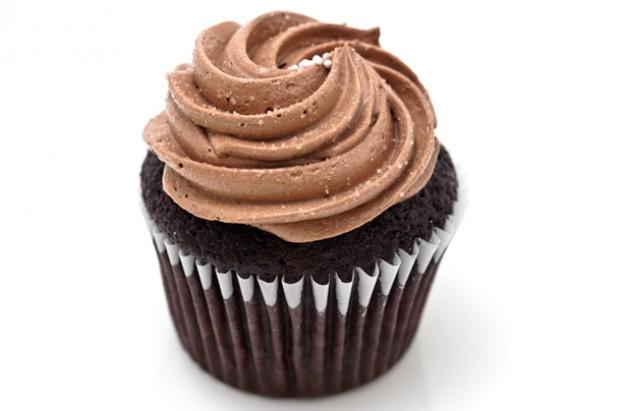 chocolate swirl cupcake