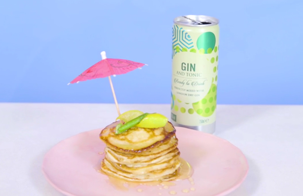 Gin and tonic pancakes recipe - goodtoknow