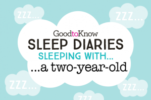 Sleep diaries, sleeping with... a two-year-old