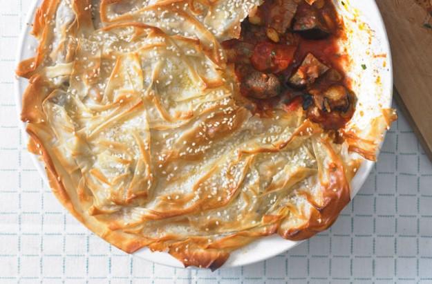lamb pastry pie