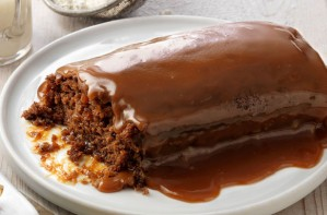 Guinness sticky toffee pudding