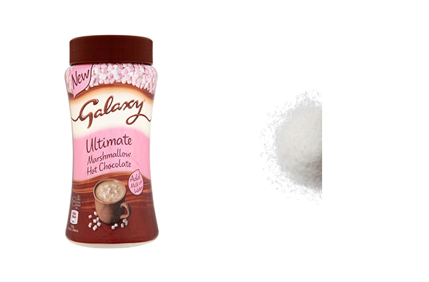 Galaxy hot chocolate salt shockers
