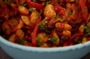 Deliciously Ella bean stew