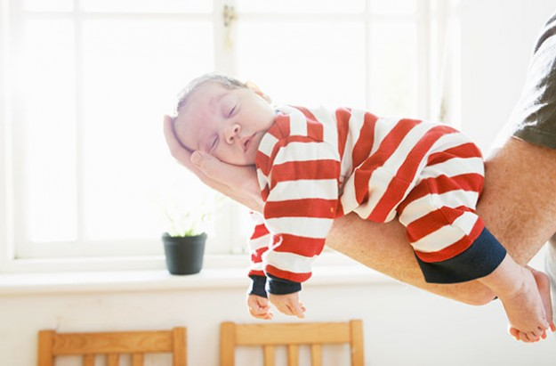 Baby sleep trick