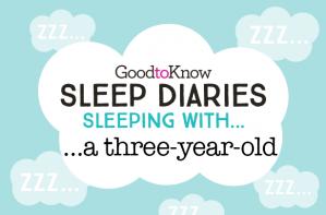 Sleep Diaries Sleeping with a three year old