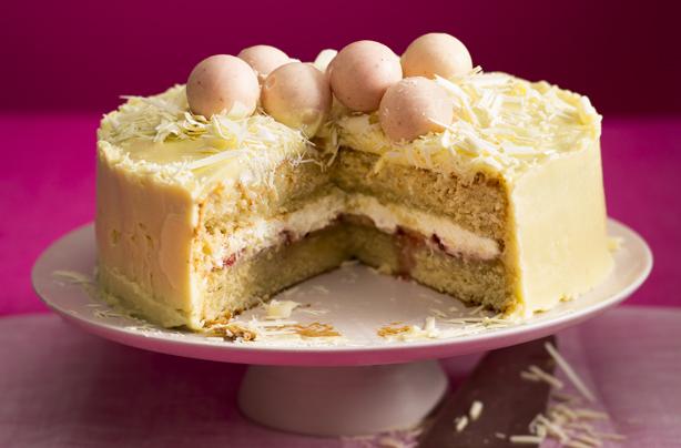 White Chocolate Birthday Cake Recipe Goodtoknow